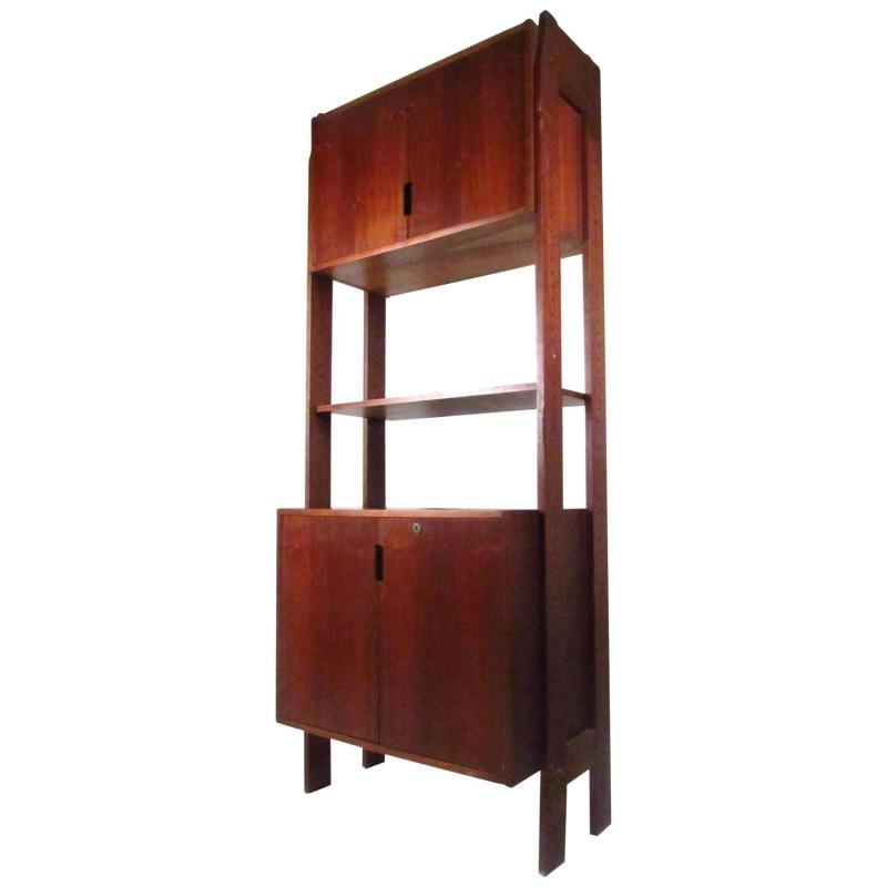 Large Of Mid Century Modern Bookcase