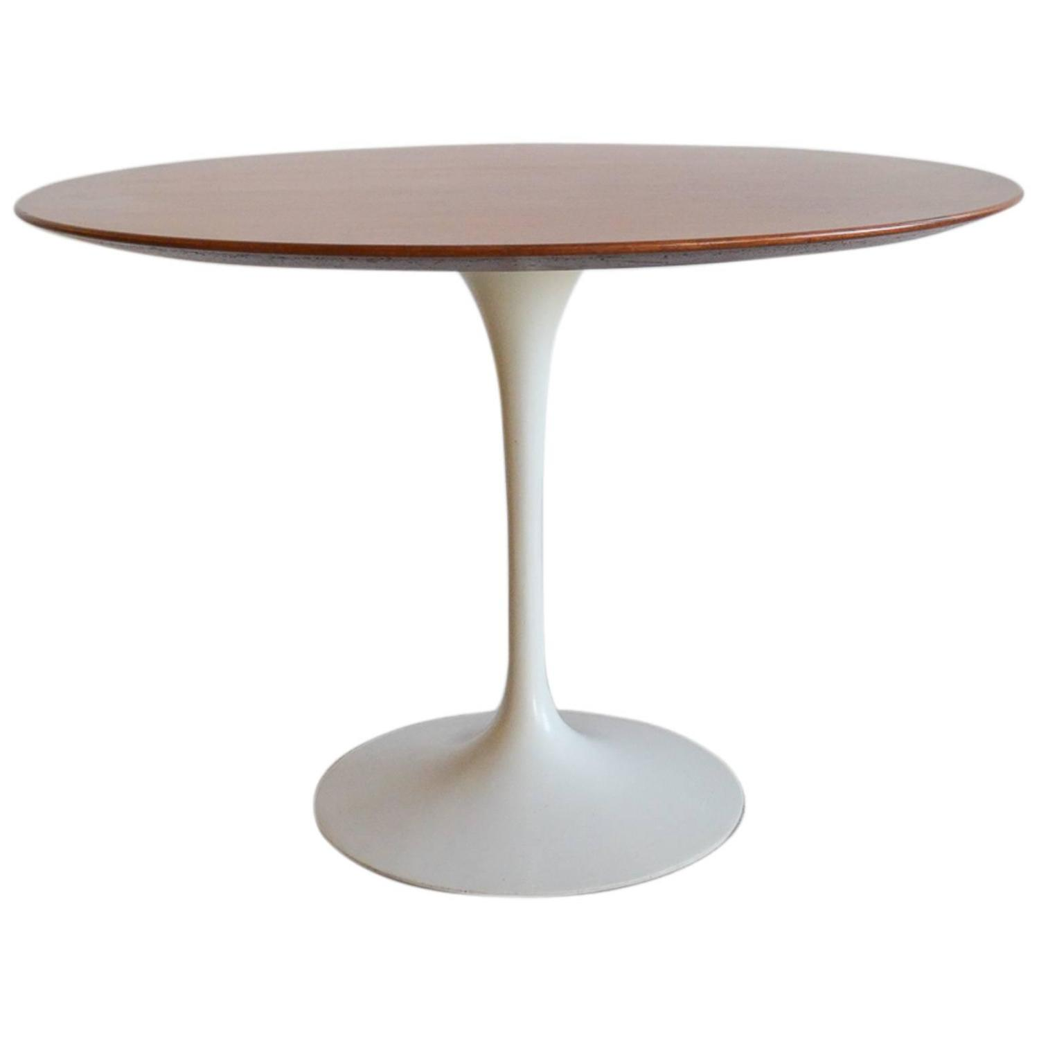 Knoll Saarinen Eero Saarinen For Knoll Walnut Dining Table At 1stdibs