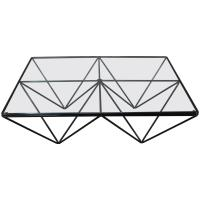 Paolo Piva Iconic Alando Coffee Table with Glass Top at ...