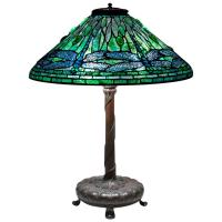 Tiffany Studios 'Dragonfly' Table Lamp at 1stdibs