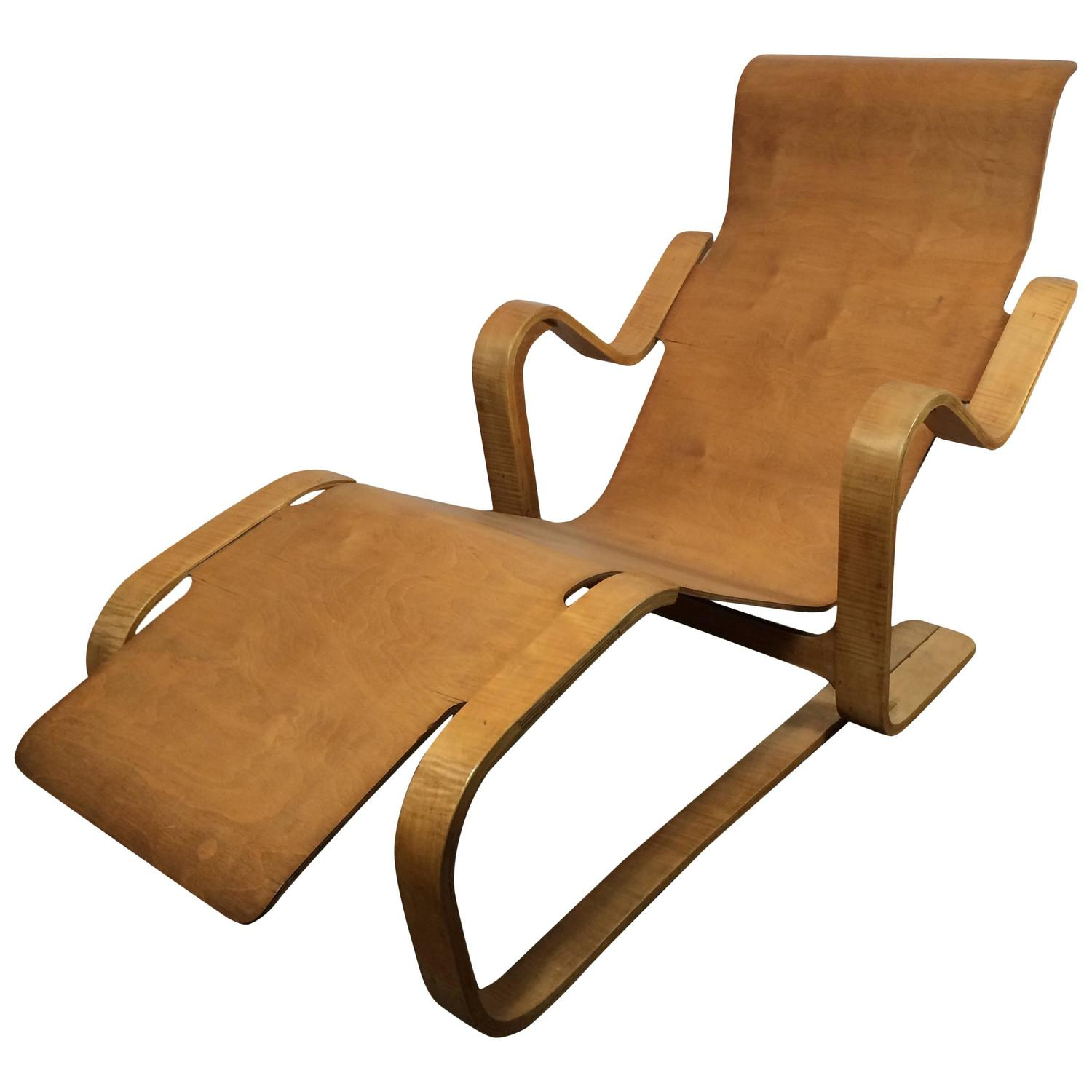 Marcel Breuer Long Chair 1935 1936 At 1stdibs
