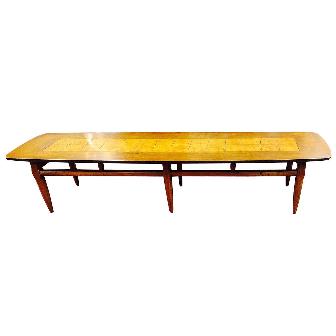 Surfboard Tables For Sale Mid Century Modern Lane Quotsurfboard Quot Coffee Table At 1stdibs