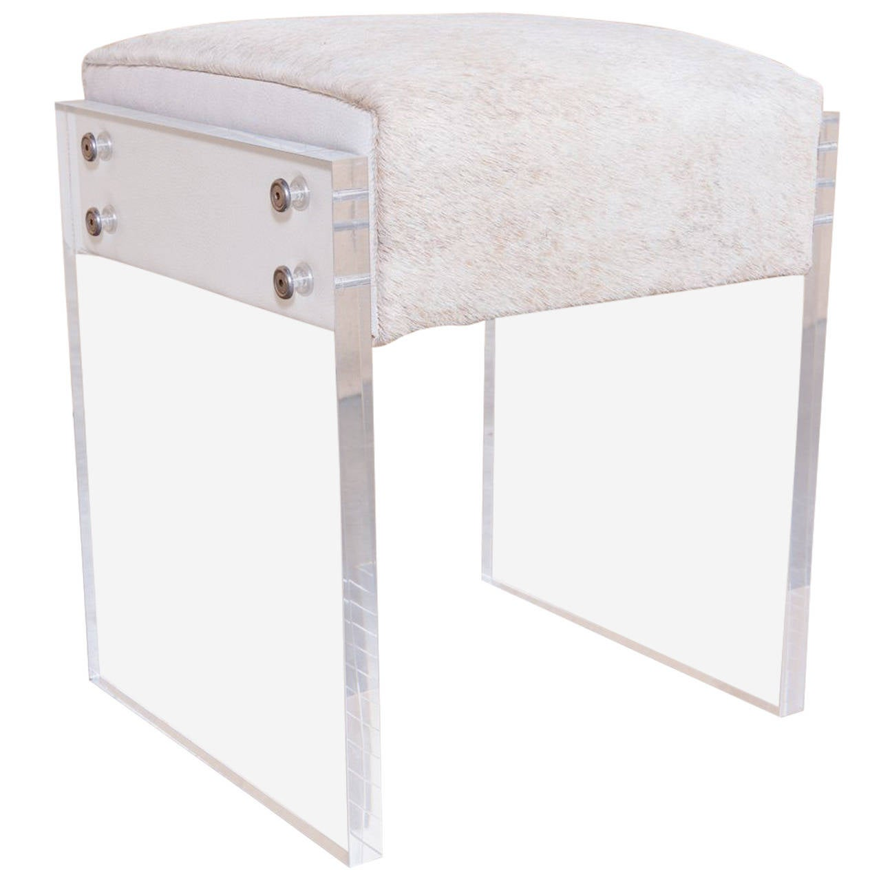 Lucite Vanity Chair Coco Lucite Vanity Stool For Sale At 1stdibs