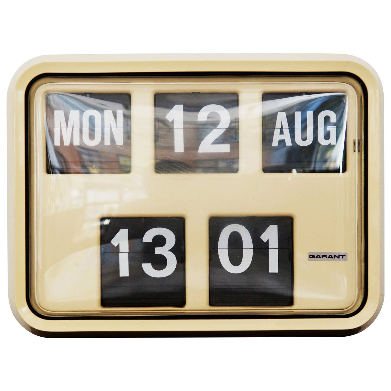 Big Flip Clock Flip Clock By Garand From 1970s At 1stdibs