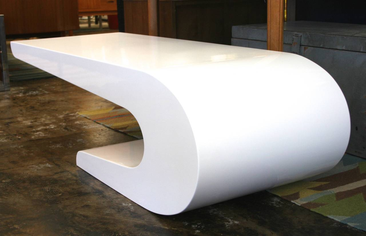 White Lacquer Coffee Tables