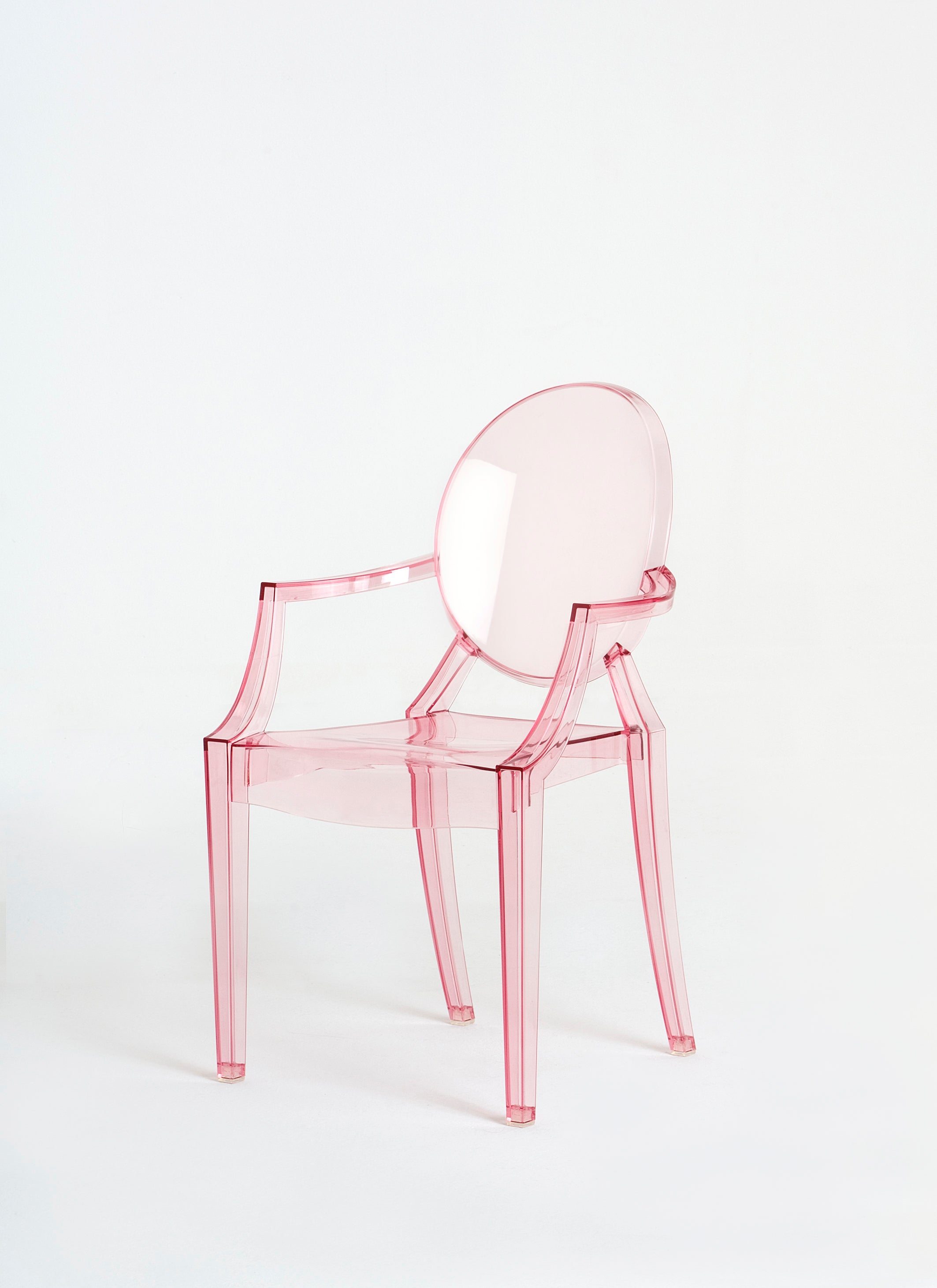 Philippe Starck Ghost Chair Kartell Lou Lou Ghost Chair In Pink By Philippe Starck