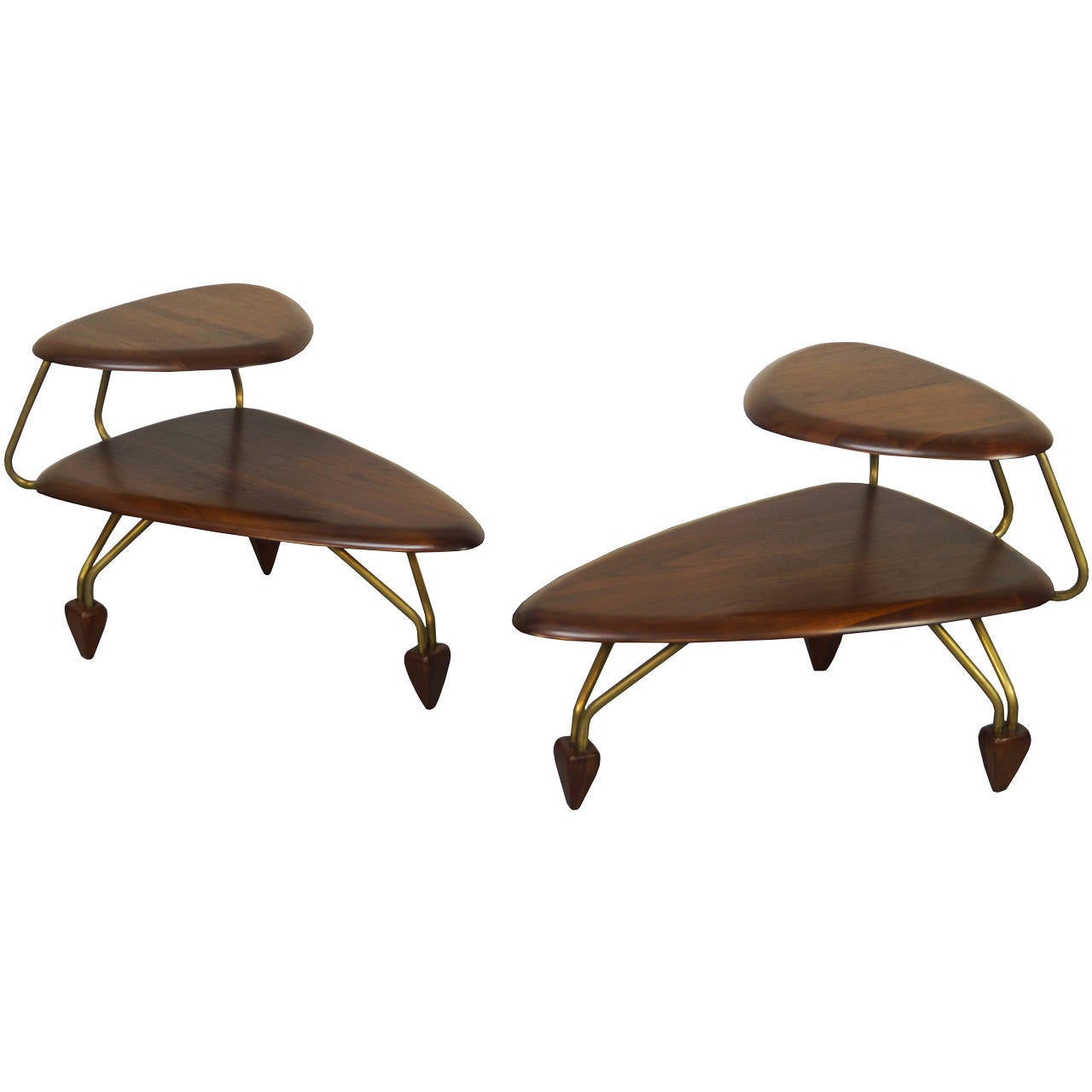 Surfboard Tables For Sale Vintage Surfboard Side Tables By John Keal At 1stdibs