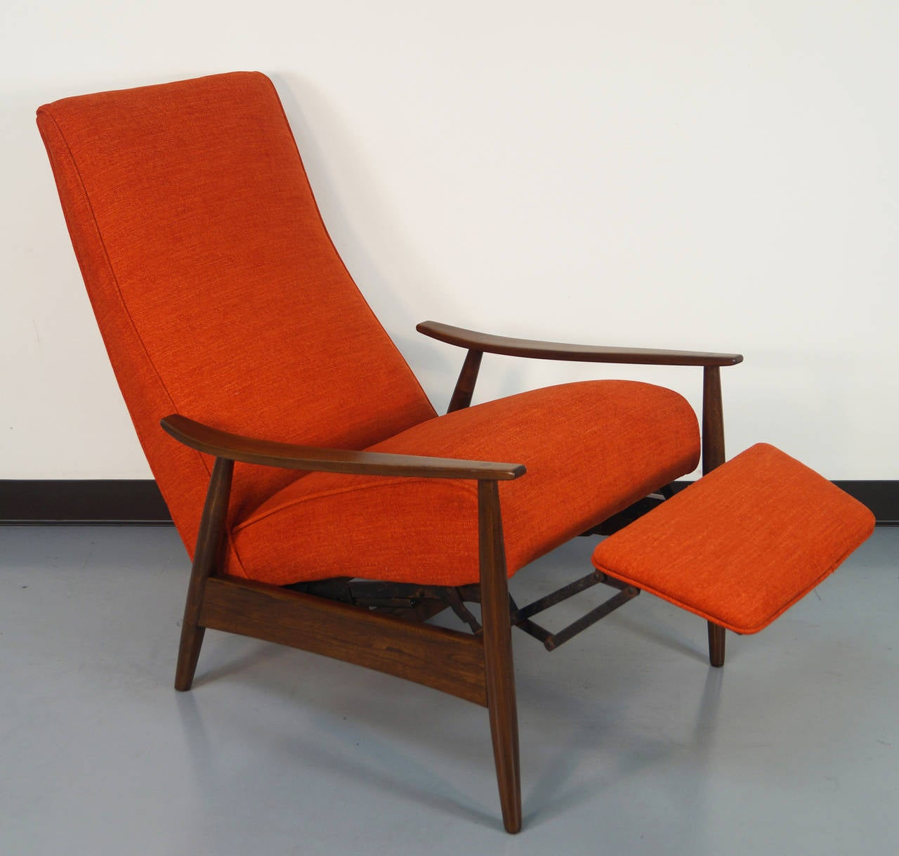 Reclining Lounge Chair Vintage Reclining Lounge Chair By Milo Baughman At 1stdibs