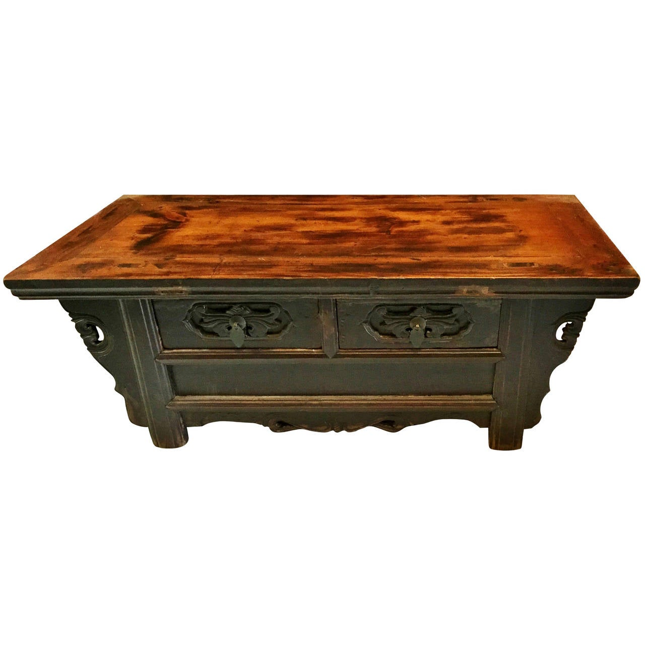 Low Tables For Sale Chinese Antique Low Meditation Table Or Chest For Sale At