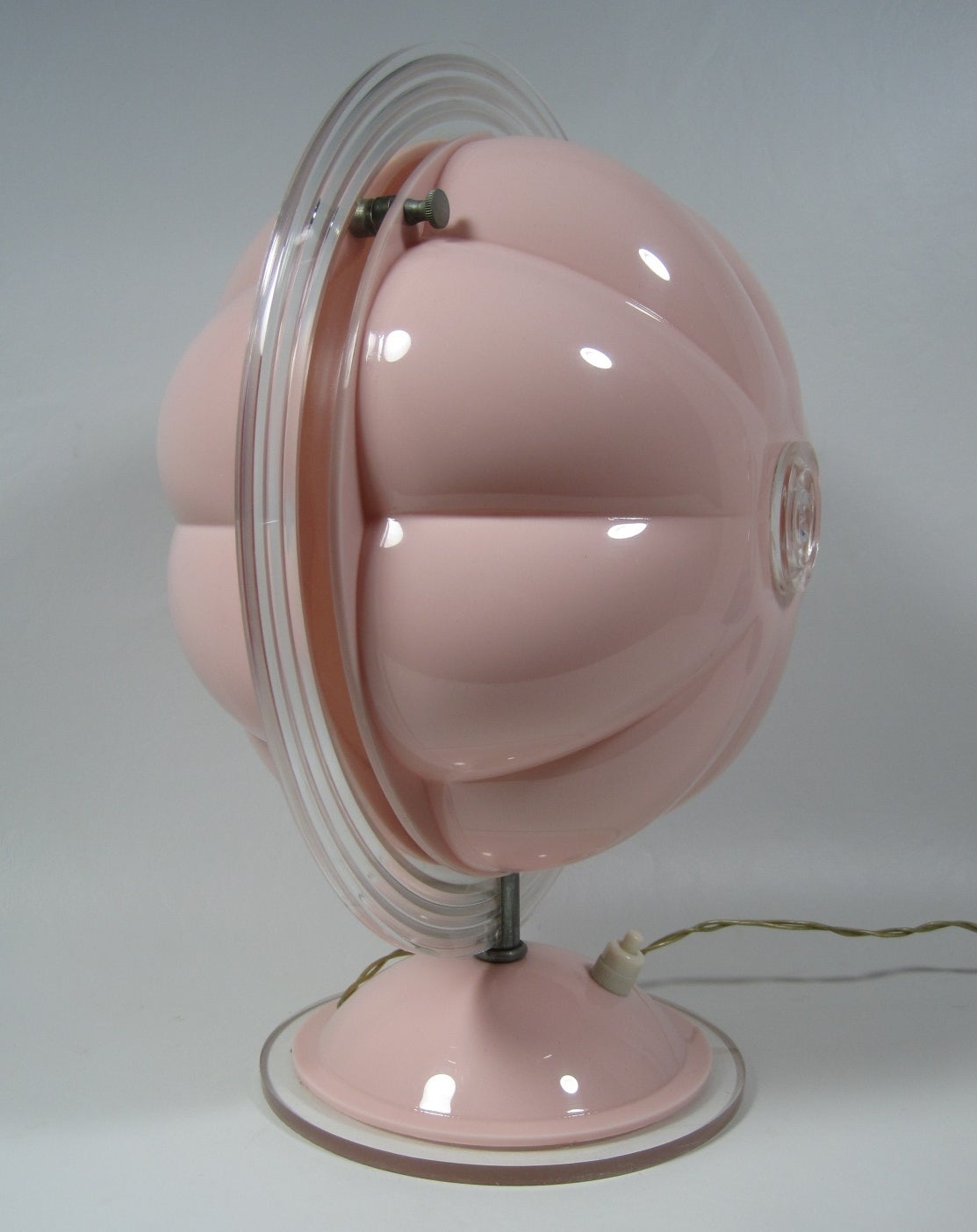 Baby Table Lamps Mid Century Modern Baby Pink Lamp At 1stdibs