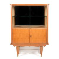 Mid-Century Modern Bar Cabinet from Paris Circa 1950 For ...