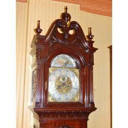 Small Crop Of Unique Grandfather Clock