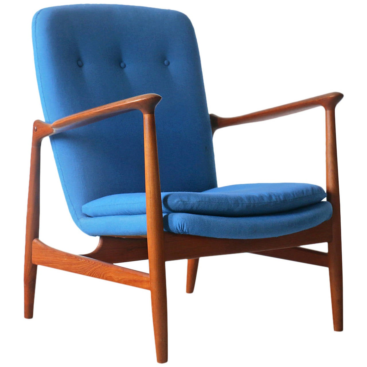 Antique Sale Finn Juhl Bovirke Vintage Danish Teak Easy Chair Finn Juhl Bovirke Vintage Danish Teak Easy Chair Easy Chair Danish Easy Chair furniture Modern Easy Chair