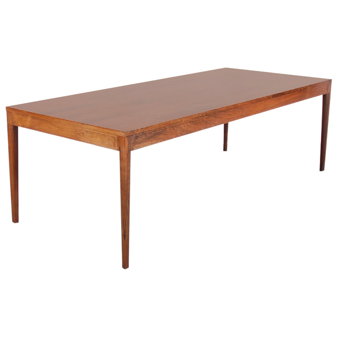 Long Dining Table For Sale Long Quotdiplomat Quot Dining Table In Brazilian Rosewood By Finn