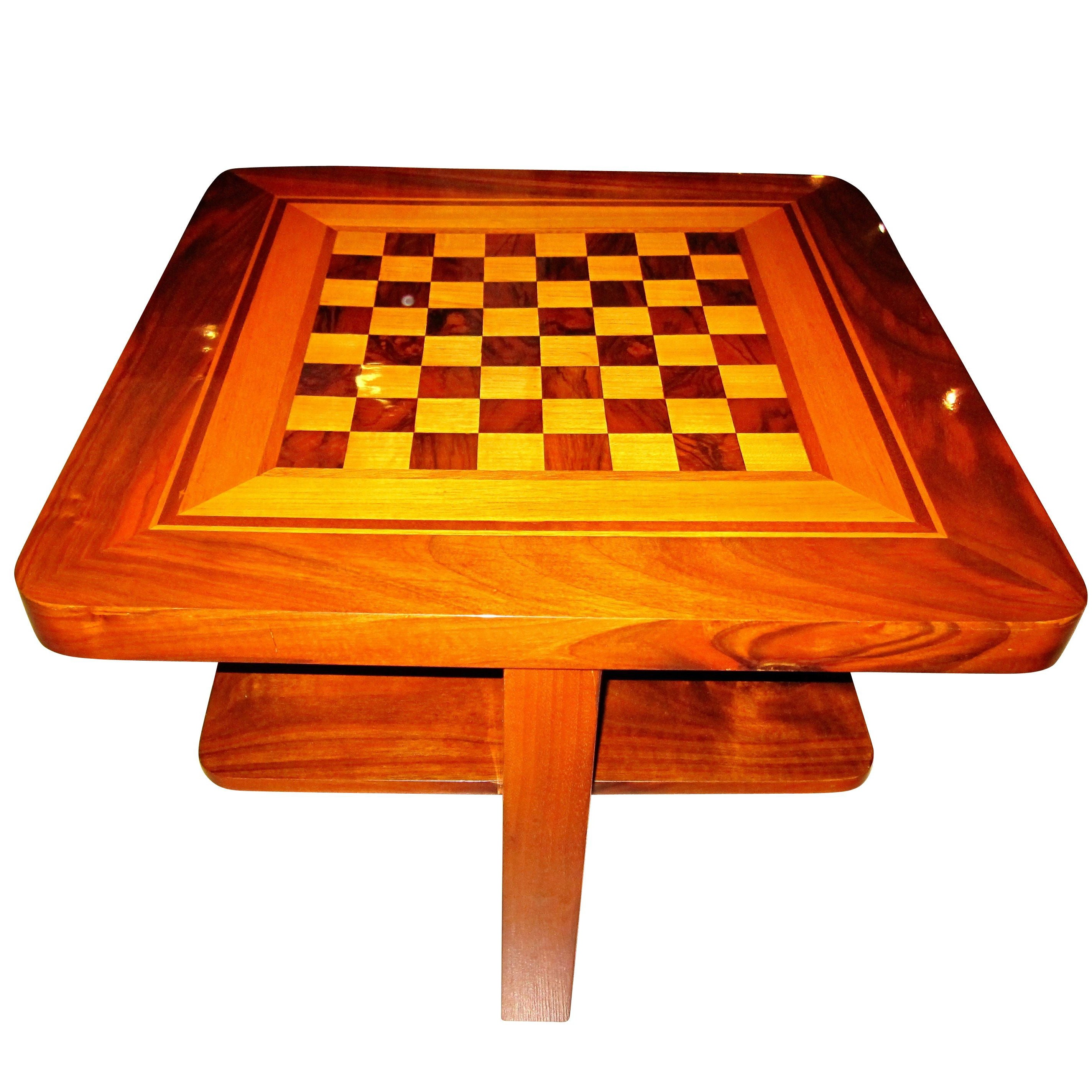 Chess Table Bauhaus Chess Table East Germany Circa 1930