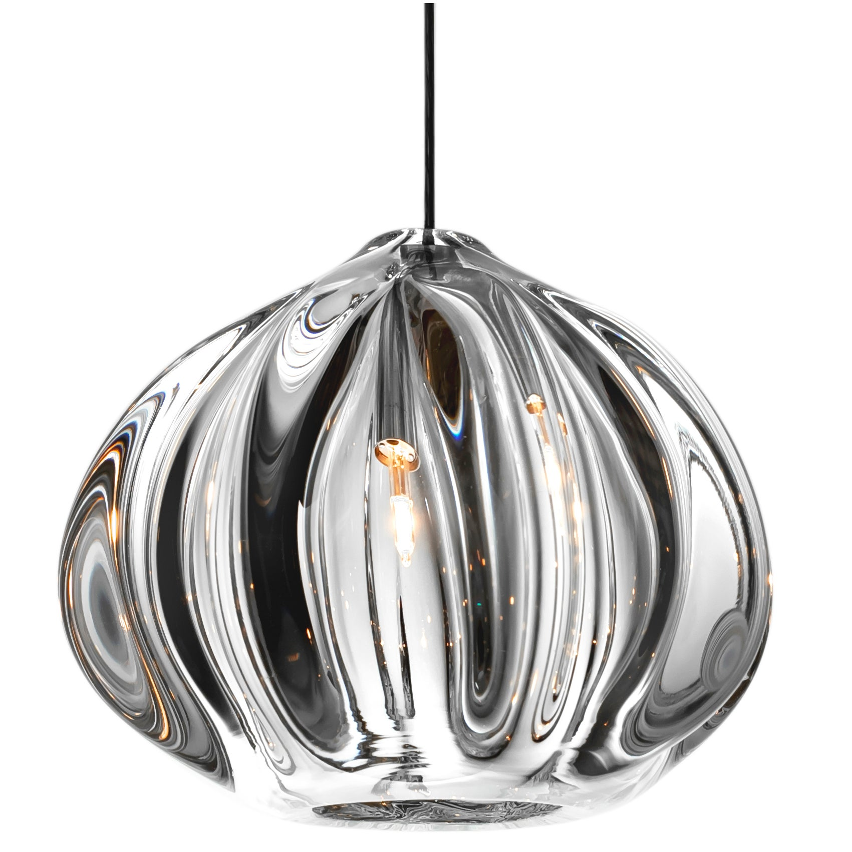 Pendant Lighting Modern Glass Shade Urchin Pendant Lighting By Siemon Salazar Made To Order