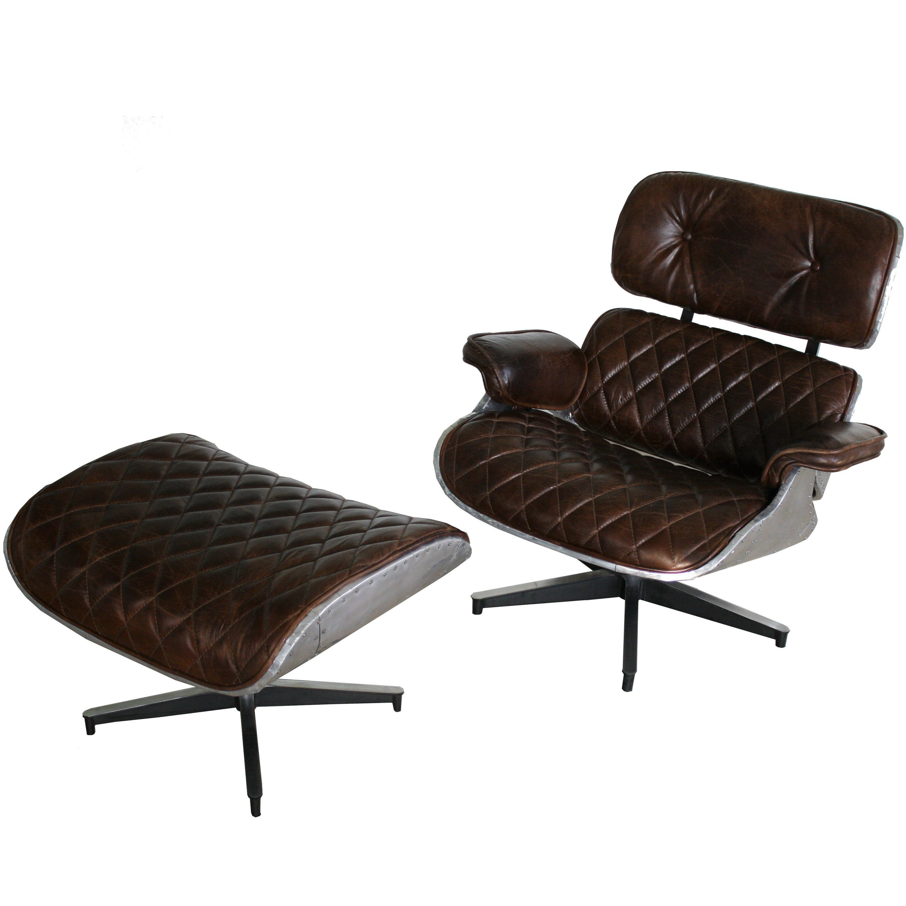 Unique Lounge Chair Unique Eames Lounge Chair And Ottoman Aviator Style