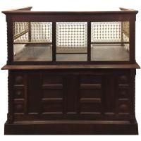 Antique Bank Teller Cage - Bing images