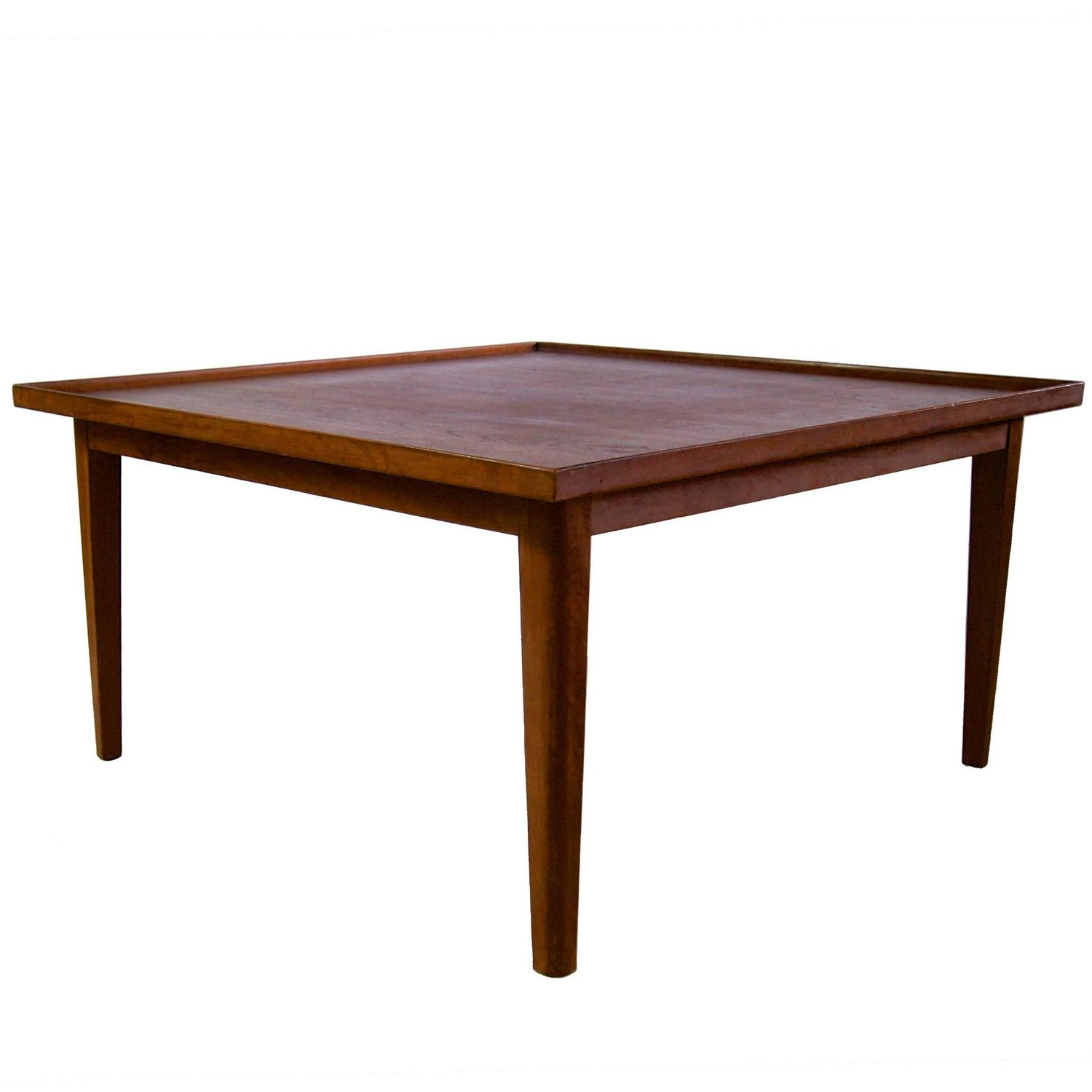 Low Tables For Sale Scandinavian Low Table With Raised Edges For Sale At 1stdibs