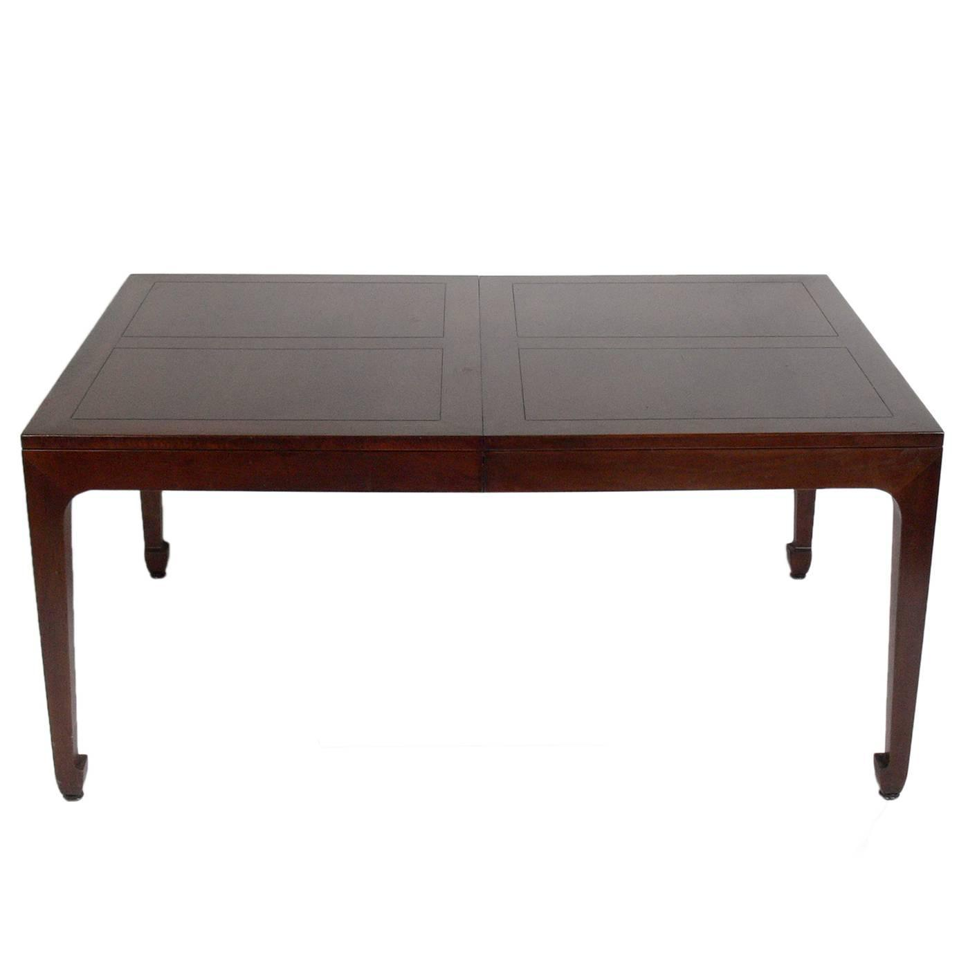 Japanese Dining Table For Sale Asian Influenced Dining Table By Michael Taylor For Baker