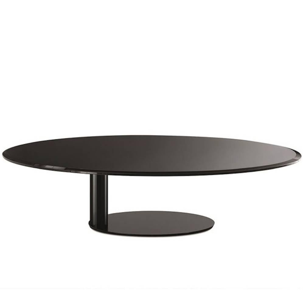 Coffee And Side Tables Oto Mini Coffee And Side Tables In Back Painted Glass By Gallotti Radice