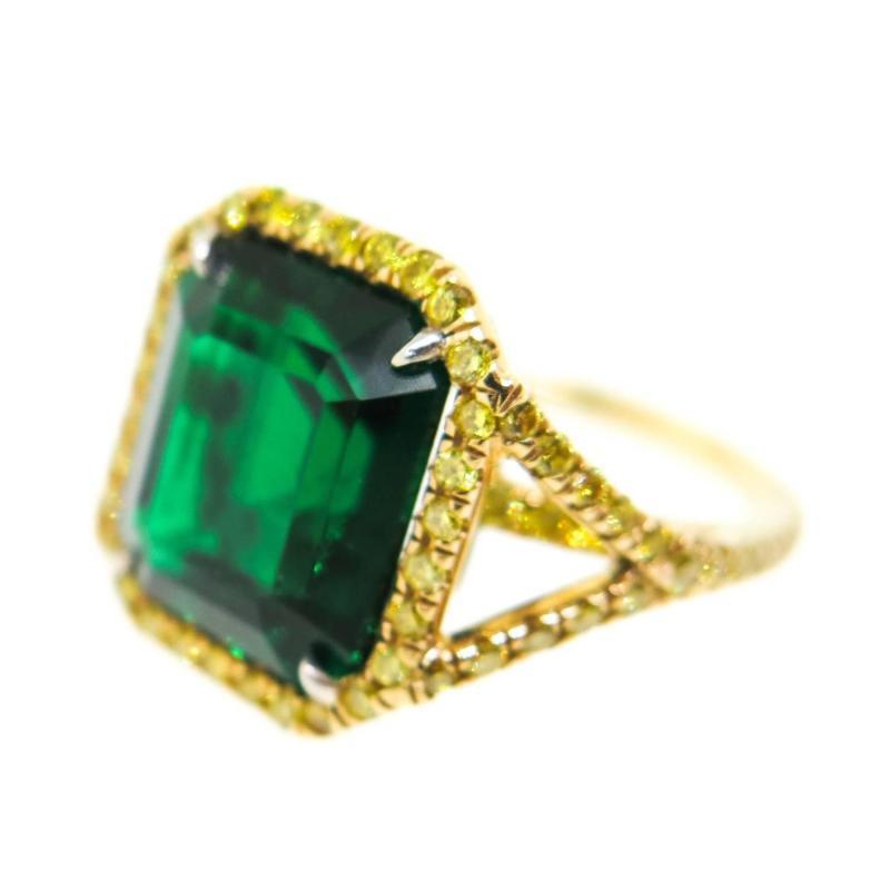 Large Of Yellow Diamond Rings