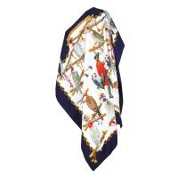 Hermes Bird Print Scarf at 1stdibs