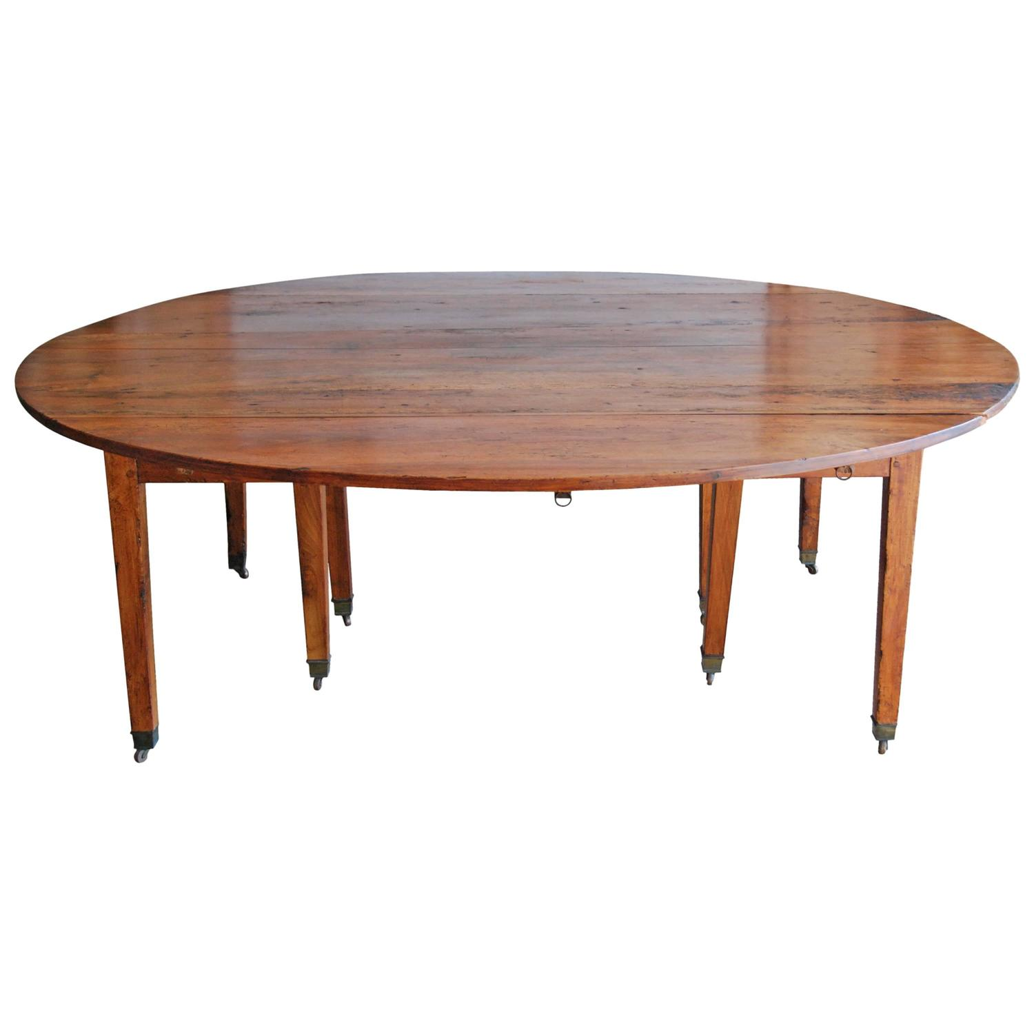16 Seater Dining Table 19th Century French Walnut Large Dining Table Seats 16