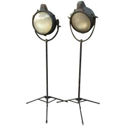 Small Crop Of Industrial Floor Lamp