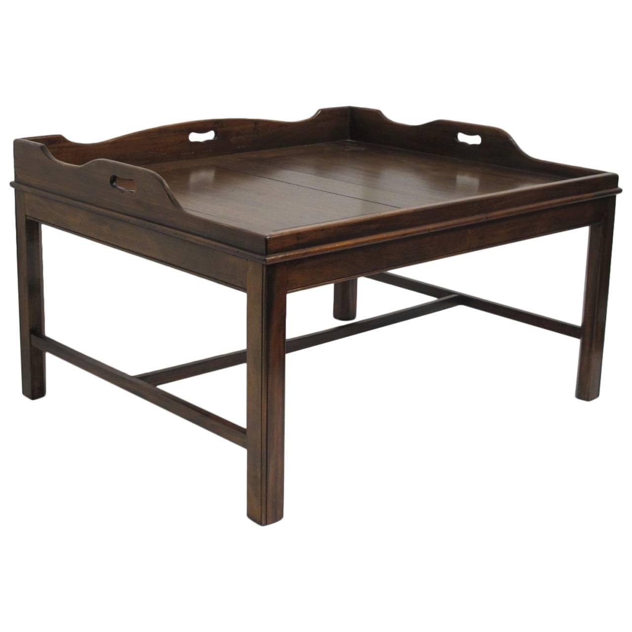 Tray Coffee Table Georgian Mahogany Butler 39s Tray Coffee Table For Sale At