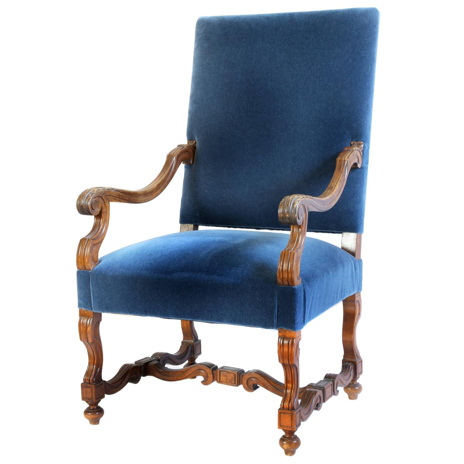 Louis The 14th Furniture French Louis Xiv Style Armchair At 1stdibs