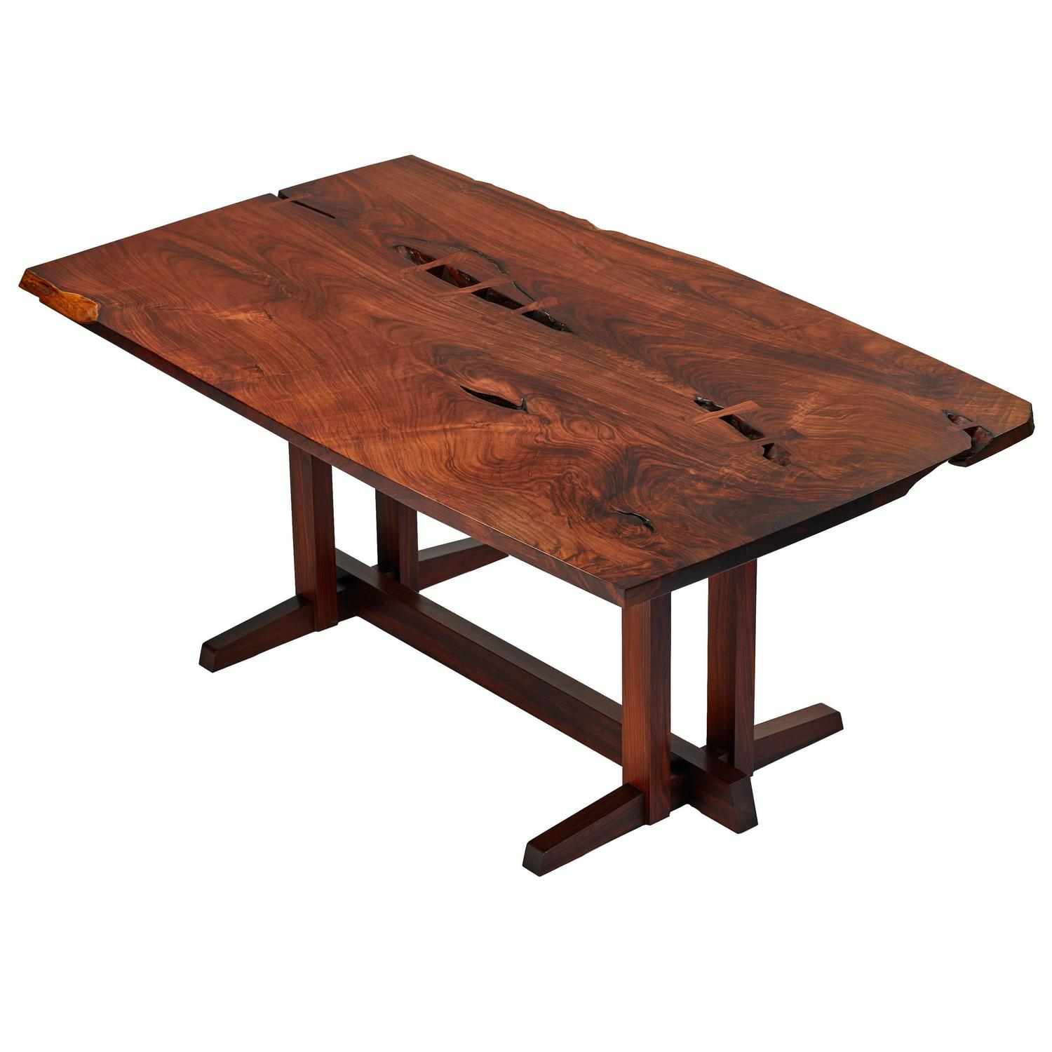 Japanese Dining Table For Sale George Nakashima Masterwork Quotsingle Board Quot Solid Rosewood