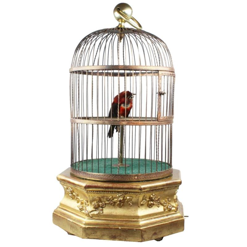 Large Of Vintage Bird Cage
