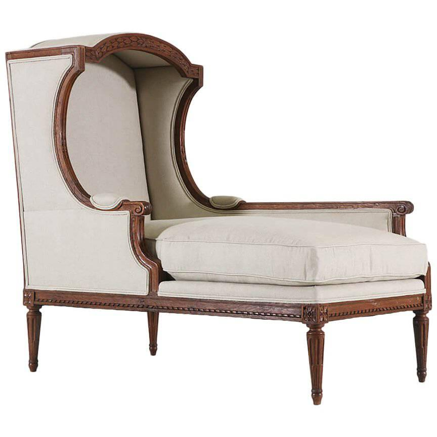 Chaise Style Louis Xvi Style Chaise Lounge