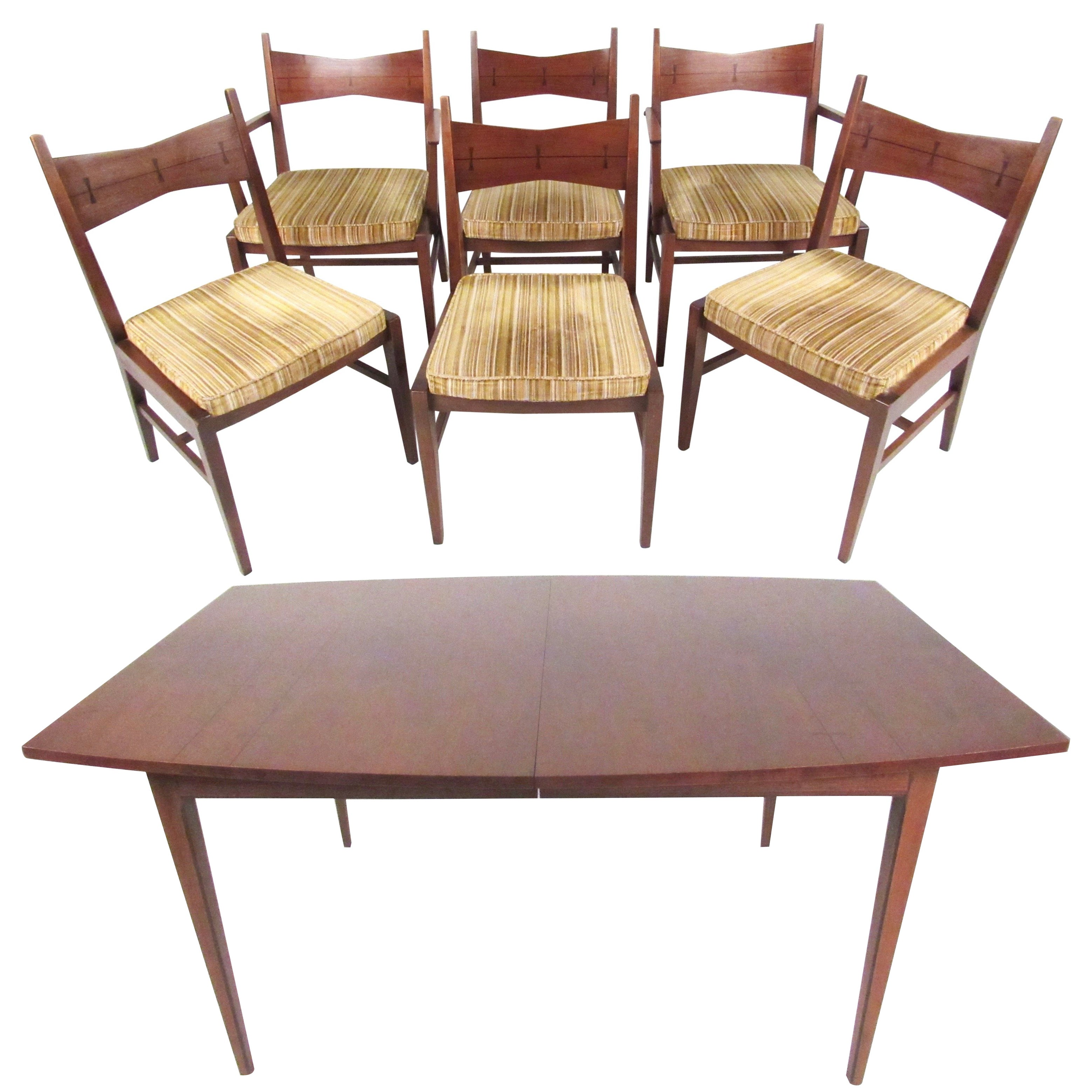 Modern Table And Chairs Mid Century Modern Dining Table And Chairs By Lane