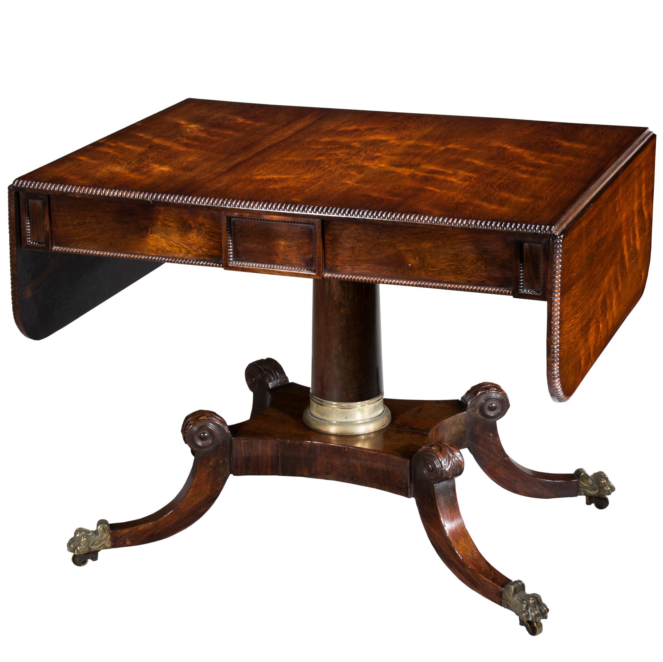 Sofa With French Writing English 19th Century Regency Sofa Table Or Writing Table