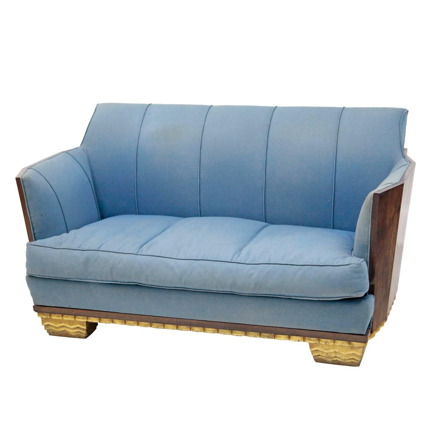 Beautiful Sofas Beautiful French Art Deco Sofa At 1stdibs