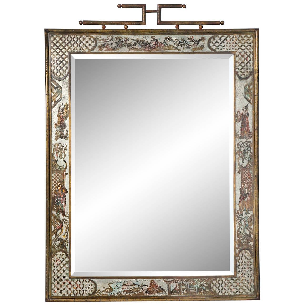 Asian Style Wall Mirrors Philip And Kelvin Laverne Mirror For Sale At 1stdibs