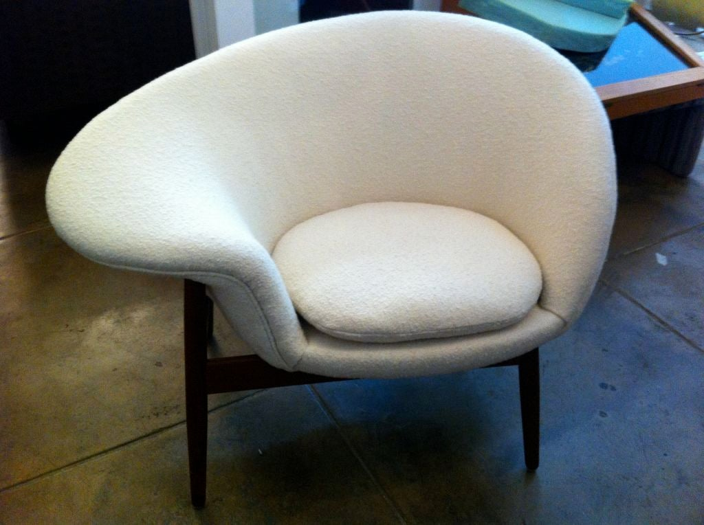 Hans Olsen Quotfried Eggquot Chair At 1stdibs