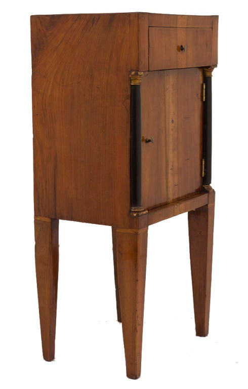 Italian Bedside Commode End Table At 1stdibs - Commode Table