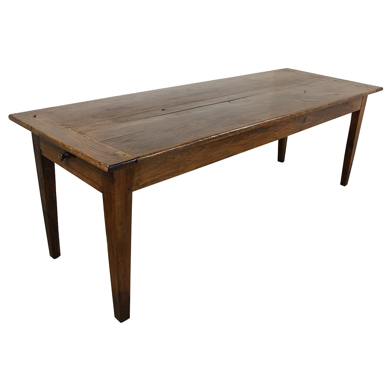 Long Dining Table For Sale Long French Antique Oak Farm Table At 1stdibs