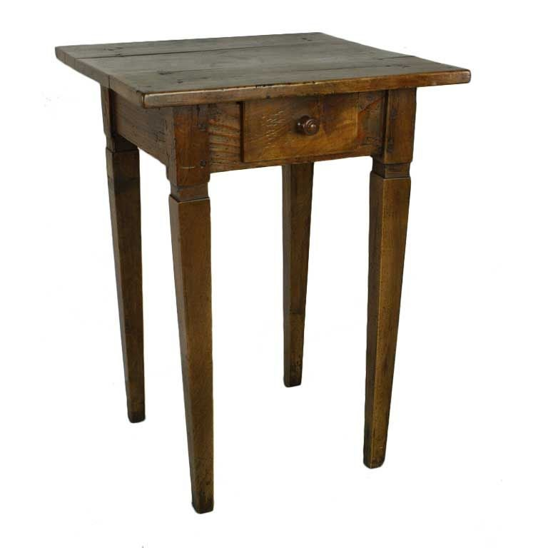 Charming antique french cherry side table at 1stdibs