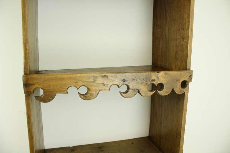 Antique Spanish Pine Hanging Shelf At 1stdibs