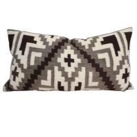 Navajo Indian Weaving Bolster Pillow l at 1stdibs