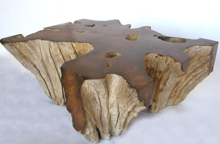 Couchtisch Paul Teak Root Coffee Table At 1stdibs