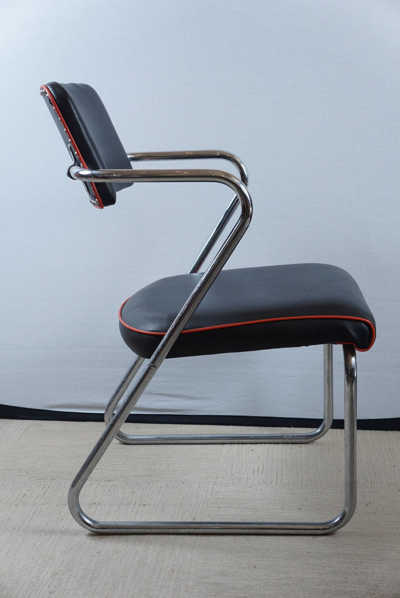Z Chairs Sale Pair Of Royalchrome Z Chairs By Gilbert Rohde For Royal