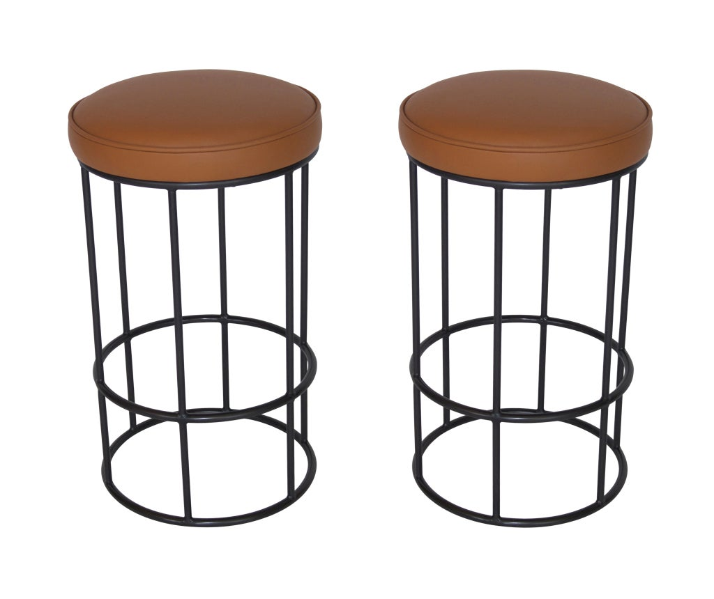 Bar Stools For Sale Iron And Leather Circular Bar Stools