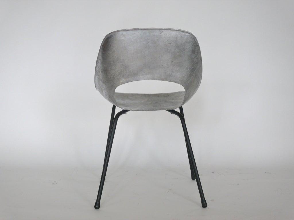 Quottonneauquot Cast Aluminum Chair By Pierre Guariche At 1stdibs
