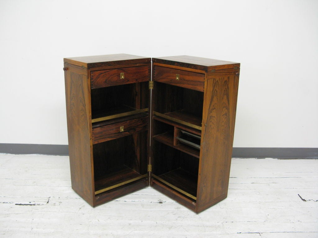 Folding Dry Bar Cabinet At 1stdibs