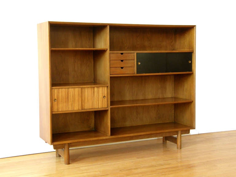Lawrence Peabody Bookcase Cabinet At 1stdibs
